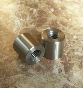 """1/2"""" UNF Stainless Steel 20mm O/D spacer / insert / bush PICK LENGTH 8mm - 35mm"""