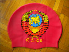 USSR SOVIET UNION SWIMMING CAP