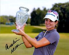 Beatriz Recari LPGA star hand signed autographed 8x10 golf photo coa Spain!