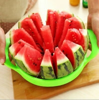 1X Watermelon Cutter Melon Slicer Stainless Steel Kitchen Fruit Divider Cutter