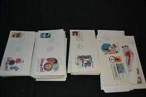 USA first day covers etc x 40+   A good interesting range ,must be high cat val.