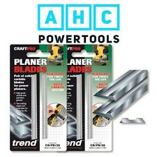 Trend Planer Blades x 2 82mm Makita Dewalt Bosch Hitachi - CR/PB29 Pack of 4