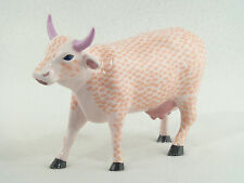 Cow Parade SMOOCH Pink Lips COW FIGURINE #9183