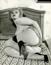 RUSSELL GAY 1963 Paris-Hollywood Photo Seductive MARIE DAVIS Panties STOCKINGS
