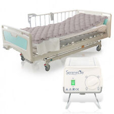 SereneLife Twin Size Inflatable Hospital Bed Bubble Pad Air Mattress w/ Ac Pump