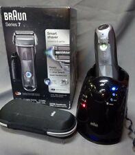 Braun Series 7 Men's Electric Foil Shaver, Wet & Dry Precision Trimmer 7850cc