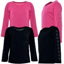 92 Langarm Mädchen-T-Shirts & -Tops ohne Muster in Größe