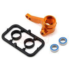 Xray Aluminum Steering Block Orange w/Bearings T2 T3 T4 EP RC Cars #XR-302256