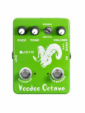 Joyo JF-12 Voodoo Octave Guitar Effects Pedal