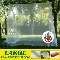 Large White Camping Mosquito Net Indoor Outdoor Insect Netting H2M3 Storage Y8T8