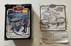 Star Wars Vintage ESB Vehicle Main Energizer Mini-rig Kenner Original *Box Only*