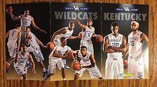 2014-15 KY University of Kentucky Wildcats Basketball Tri-Fold Pocket Schedule