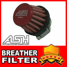 Mini Air Oil Crankcase Vent Breather Filter 18mm RED