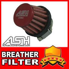 Mini Air Oil Crankcase Vent Breather Filter 18mm RED