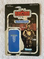 Star Wars Vintage Original See-Threepio C-3PO Card Back Only Kenner