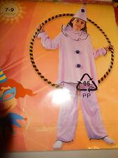 Kostüm Clown für Mädchen rosa 7-9 Jahre 116 - 134