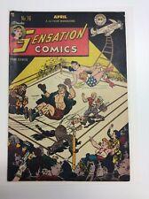 1948 Golden Age DC Sensation Comics 76 Wonder Woman