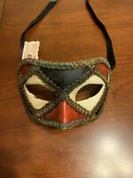 Authentic La Maschera Del Galeone Hand Painted Mask Venice Italy