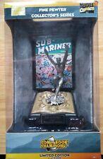 Marvel Comics fine pewter collector series hero statue/figure of the SUB MARINER
