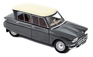 Citroen Ami 6 1964 Gris Typhon 1/18 NOREV AMC019066 (defecto)