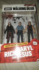 AMC The Walking Dead Ltd. Ed. Allies 3pk. DARYL, RICK & JESUS action figure set