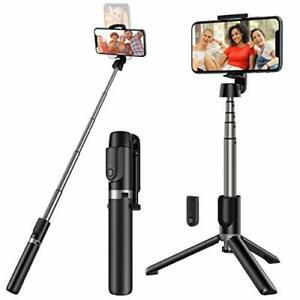 Yoozon Selfie Stick Tripod Bluetooth,Extendable Phone Tripod Selfie Stick with W