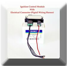 Ignition Control Module W/ 2 Electrical Connectors  Fits: GM Vehicles 1987-1993