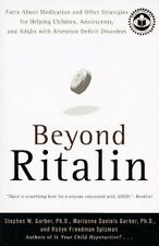 Beyond Ritalin: Facts About Medication and Other Strategies for Helping Children