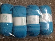4 x 100g DK So Crafty Wool/Yarn - teal