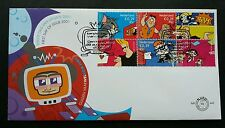 Holland Cartoons 2001 Netherlands Animation Tom Jerry Postal Mailbox (stamp FDC)