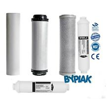 6 Stage Reverse Osmosis RO 5 PCS Pre& Post Filter Replacement Mineral