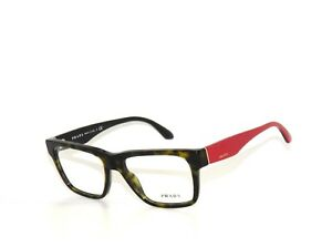 Prada 16R 16 2AU-1O1 51 Havana Red Eyeglasses  Sale