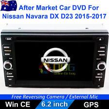 """6.2"""" Car DVD GPS Navi Head Unit Stereo for Nissan Navara DX D23 2015-2017"""