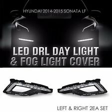 LED DRL Day Light Lamp Assy Fog Light Cover for HYUNDAI 2015-2017 LF Sonata i45