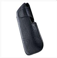 Housse Etui Pochette Protection façon cuir noir pour SAMSUNG Galaxy J3 (2017)