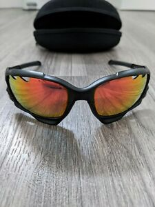 Oakley Jawbone (Racing Jacket)  Sunglasses Black with Spare Lenses and Box