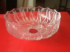 VINTAGE OFNAH CRYSTAL BOWL HAND CUT MADE IN POLAND IN MINT CONDITION