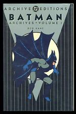 Batman Archives Volume 1 ~ Bob Kane ~ Hardcover ~ DC Archive Editions 1990