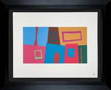 Josef ALBERS Original SILKSCREEN [XVIII-3a] LIMITED Ed. w/FRAME Included