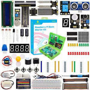 KEYESTUDIO Basic/Super Starter Kit for Raspberry Pi 4B Python Programming Kits