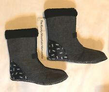 NEW! Sorel Caribou 9MM Thermoplus Innerboot Liners + Black Cuff Men's Size 10.5