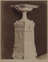 Museo Vaticano Roma Italia Vintage Albumina Ca 1880