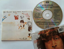 John Lennon Walls And Bridges MINT CD 1987 EMI UK Misprint the beatles yardbirds