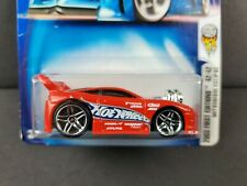 2003 Hot Wheels First Editions Mitsubishi Eclipse #54 Red PR5 Wheels JDM Car NEW