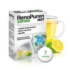 RENOPUREN ZATOKI HOT, 7 SACHETS - functioning of the upper respiratory tract