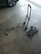 2 Folding Luggage Carts Portable Hand Truck Metal Heavy Duty