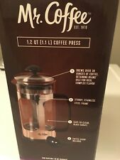 Mr. Coffee Large French Press Stainless Steel