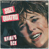 "SUZI QUATRO Mama's Boy - 7"" Single 1979 - Coverhülle SIGNIERT! hand signed"