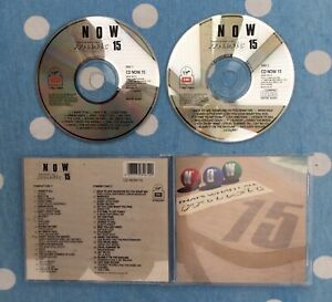 🌟NOW THAT'S WHAT I CALL MUSIC 15🌟THATS A RARE CD🌟UK🇬🇧SELLER🌟FAST POSTAGE🌟