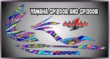 YAMAHA GP1200R AND GP1300R jet ski  SEMI CUSTOM GRAPHICS KIT GROOVY